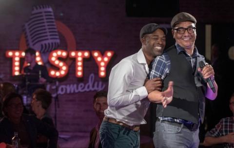 Nieuwsbericht: Tasty Comedy: humor, eten en muziek