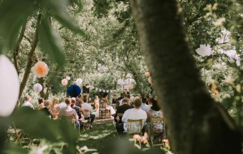 Nieuwsbericht: Bruiloft in de tuinen van Oudewater